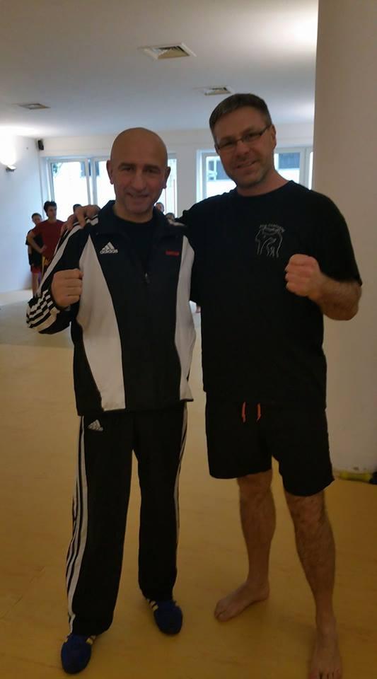 Ilhami Özden und Marc Schaffrath