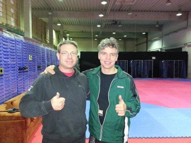 Marc Schaffrath mit Klaus Nonnemacher